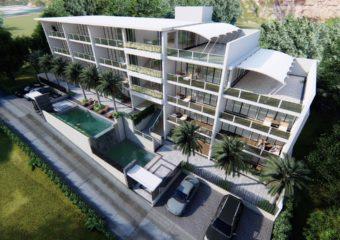 Elegant boutique luxury apartment complex
